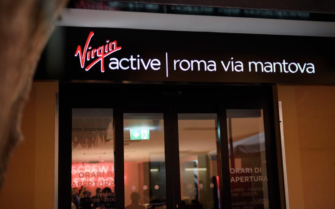 Inaugurazione Virgin Active Via Mantova Roma