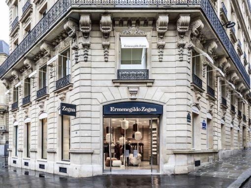 Ermenegildo Zegna Boutique – Parigi (2020)